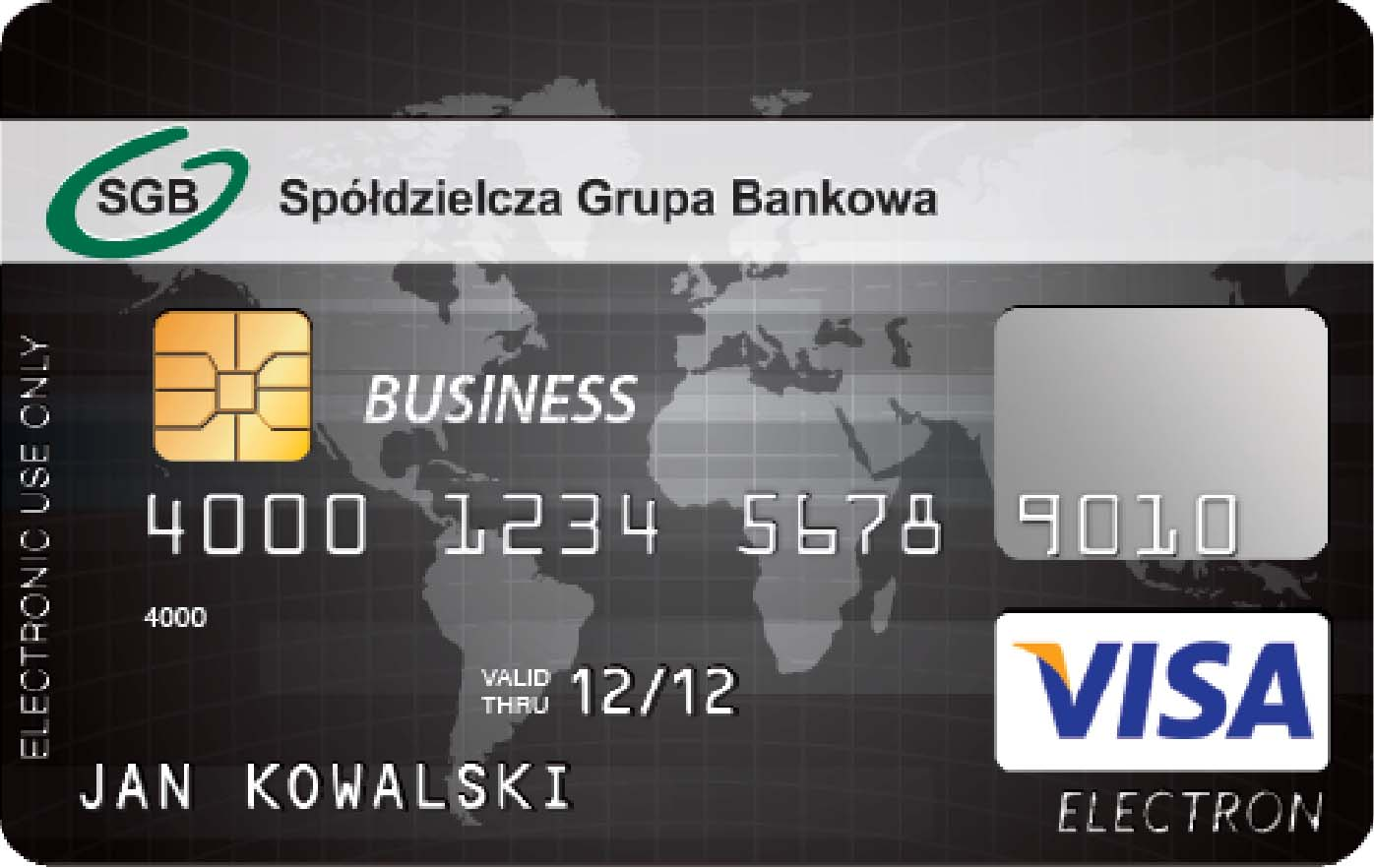 visa business czarna